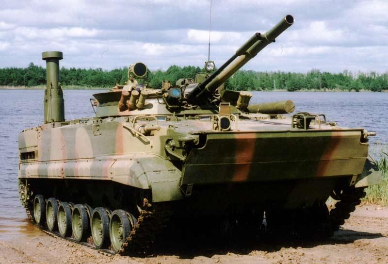 Боевая машина пехоты БМП-3Ф