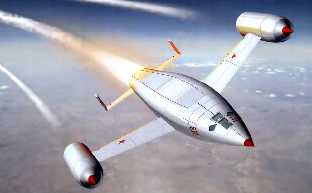 Проект реактивного бомбардировщика М.В. Келдыша 1947 г.