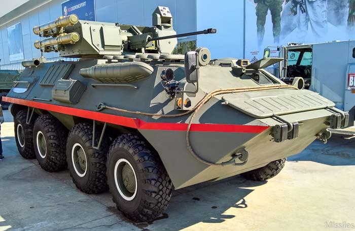Опытный бронетранспортер БТР-87