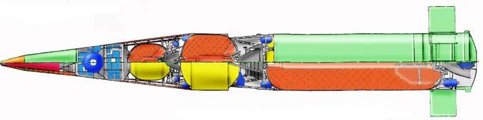 Проект межконтинентальной баллистической ракеты Ф-22 «Вереница»