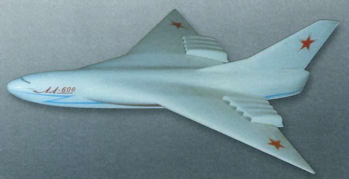 Проект океанской летающей лодки ЛЛ-600