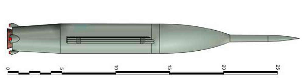 Проект баллистической ракеты Р-3