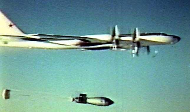 Опытный тяжелый бомбардировщик Ту-95В (Ту-95-202)