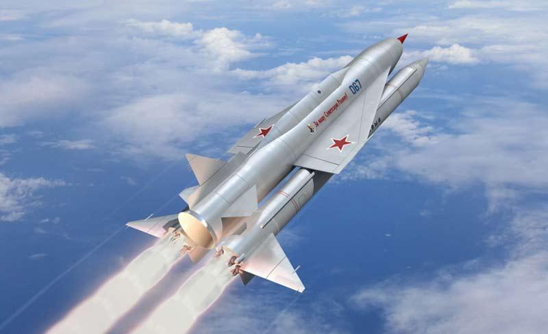 Межконтинентальная крылатая ракета В-350 «Буря»