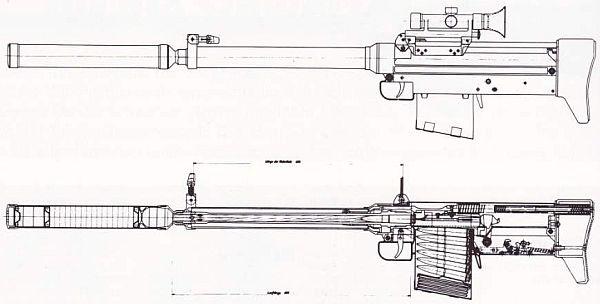 пулей калибра 12,7х64 мм,