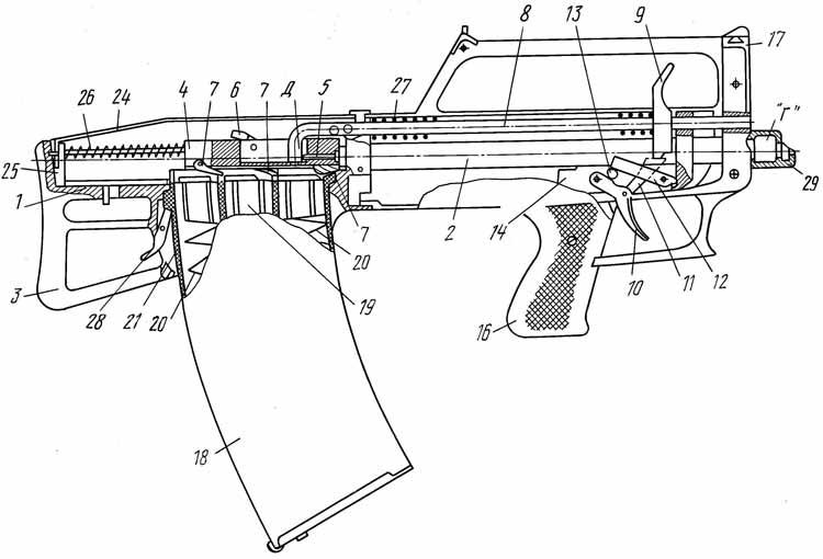 Проект пистолета-пулемёта