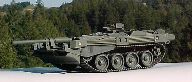 Вот например так же скандинавская техника, безабщенный танк, штука очень.