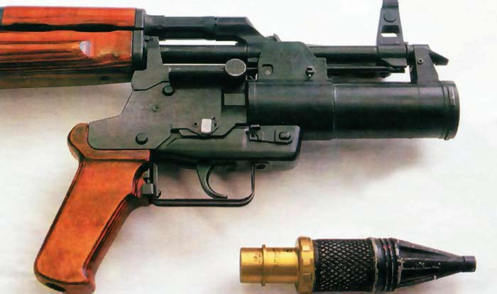 Подствольный гранатомёт ОКГ-40 «Искра» (ТКБ-048)