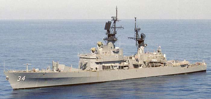 Крейсера типа Belknap class cruiser