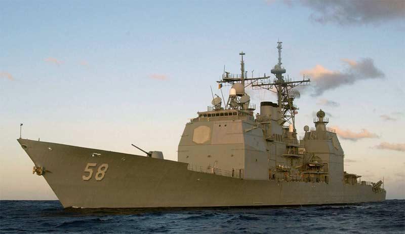 Ракетные крейсера типа USS Ticonderoga (CG-47)