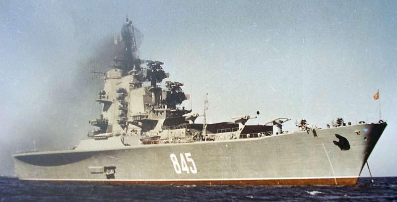 Противолодочные крейсера проекта 1123 «Москва»