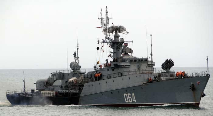 Малые противолодочные корабли проекта 1124 Альбатрос