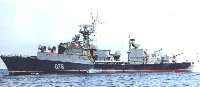 Малые противолодочные корабли проекта 1124