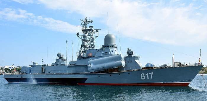 Малые ракетные корабли проекта 1234.1