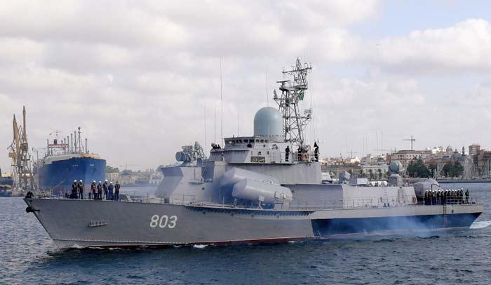 Малые ракетные корабли проекта 1234Э «Овод-Э»