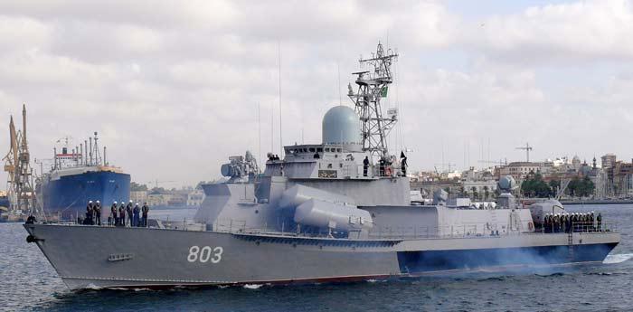 Малые ракетные корабли проекта 1234ЭМ