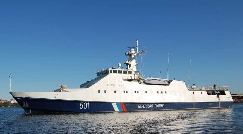 Сторожевые корабли проекта 22460 «Охотник»