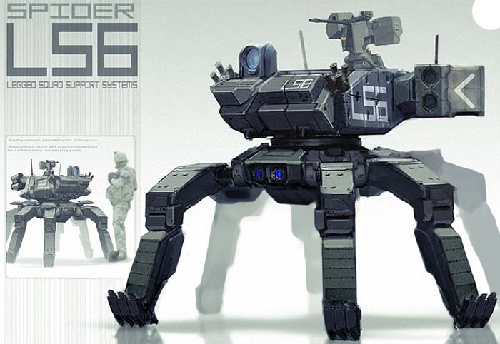 выглядеть боевые роботы,