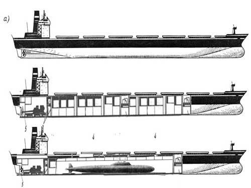 внешний вид танкера.