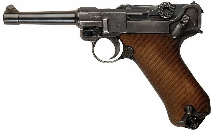 Пистолет parabellum p 08 германия