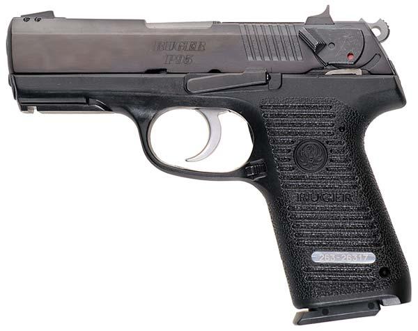 Пистолет ruger p95 сша