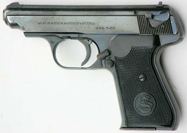 Пистолет sauer 38h германия