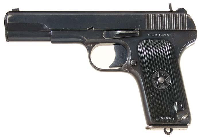 Пистолет тт обр 1933 г россия