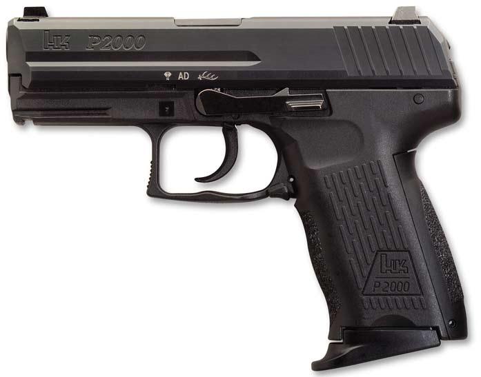 Пистолет Heckler & Koch P2000
