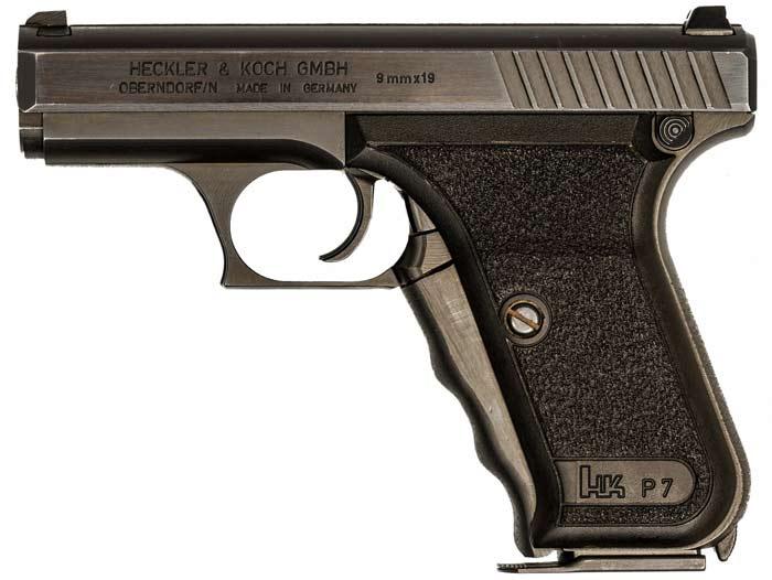 Пистолет Heckler & Koch P7