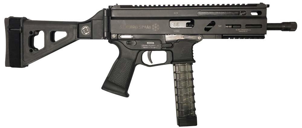 Пистолет-карабин Grand Power Stribog SP9 A1