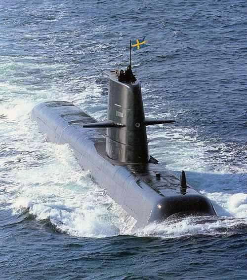Подводная лодка a14 nacken швеция