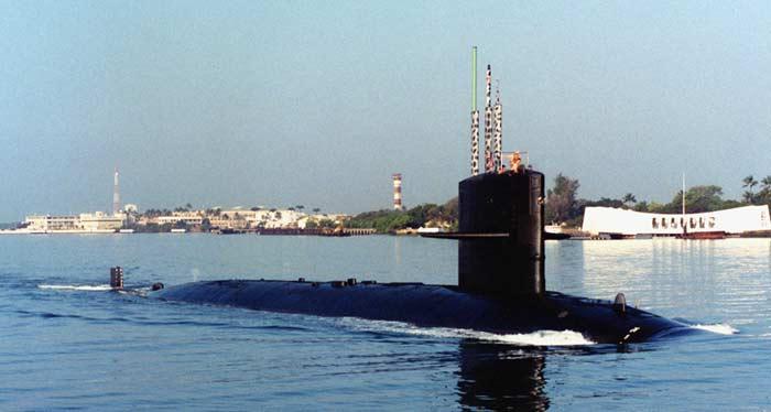 Подводные лодки типа Sturgeon class