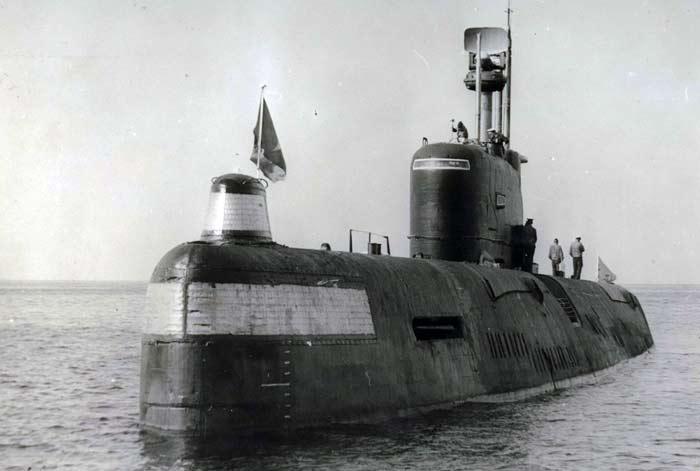 Дизель-электрическая подводная лодка проекта 651 «Касатка»
