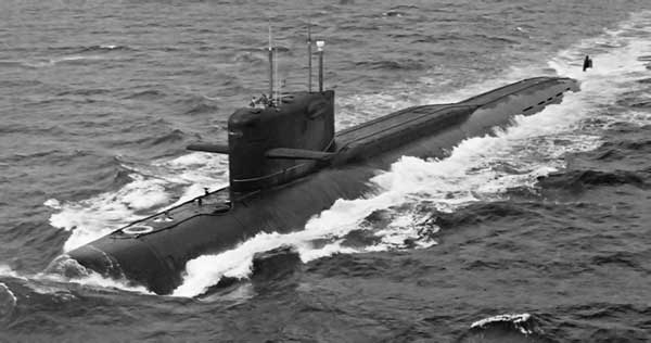 Подводные лодки проекта 667А «Навага»
