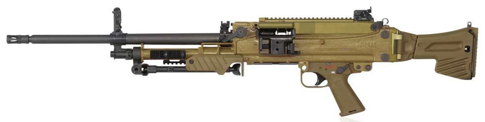 Единый пулемёт HK MG5