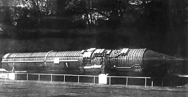 Межконтинентальная баллистическая ракета 15А11 системы «Периметр»