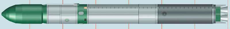 Межконтинентальная баллистическая ракета 15А18 Р-36М УТТХ