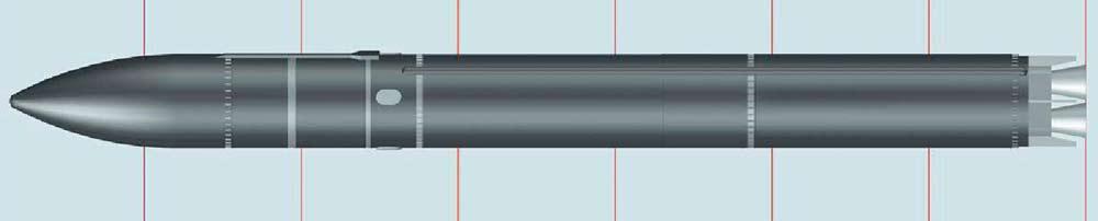 Межконтинентальная баллистическая ракета 15А18М Р-36М2 «Воевода»
