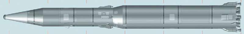 Межконтинентальная баллистическая ракета 8К64 Р-16