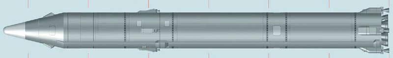 Межконтинентальная баллистическая ракета 8К69 Р-36орб