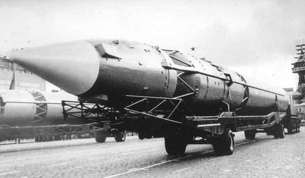 Проект межконтинентальной баллистической ракеты 8К713 ГР-1