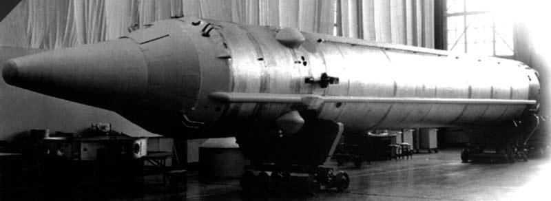 Межконтинентальная баллистическая ракета 8К84 УР-100