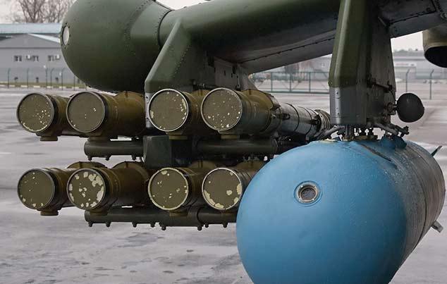 Авиационный противотанковый ракетный комплекс 9K113 «Штурм-В»