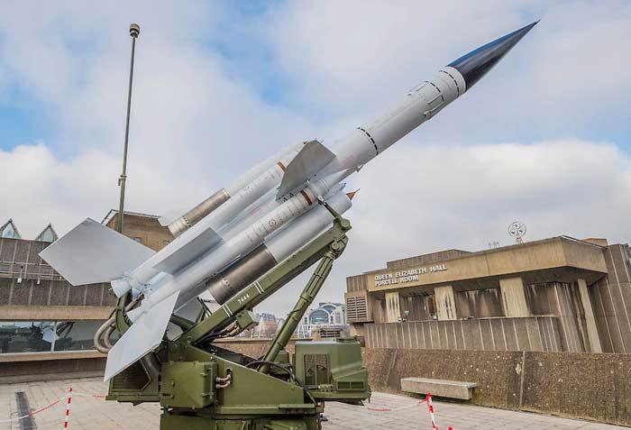 Зенитный ракетный комплекс Bristol Bloodhound