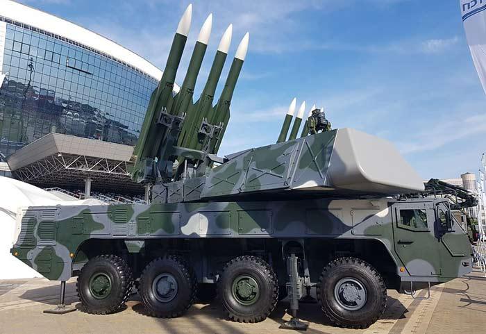 Зенитный ракетный комплекс «Бук-МБ3К»