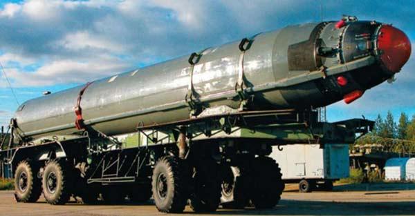 Баллистическая ракета 3М40 Р-29Р