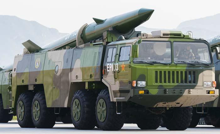 Тактический ракетный комплекс DF-15
