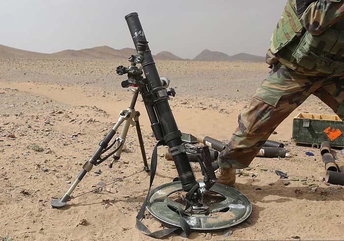 60-мм легкий миномет M224