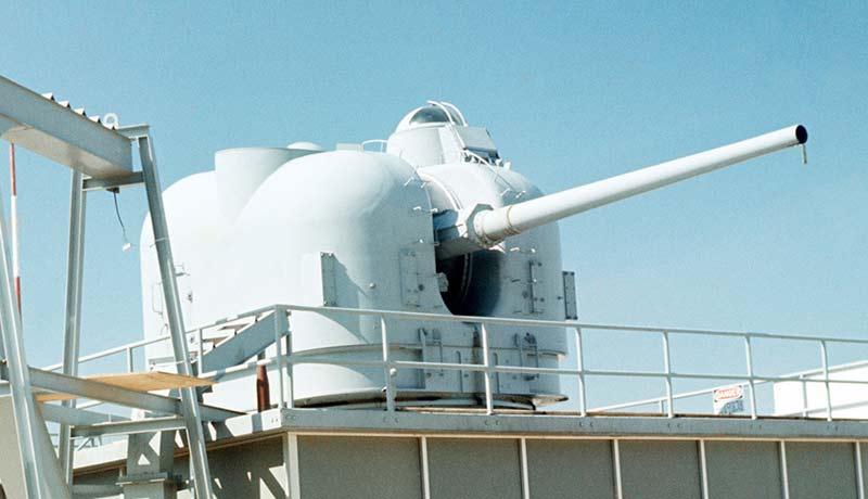 Корабельная артиллерийская установка Mk.42