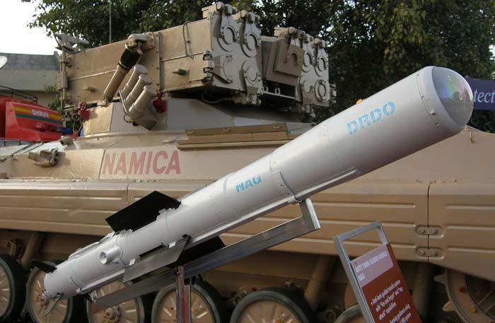 Противотанковый ракетный комплекс Nag